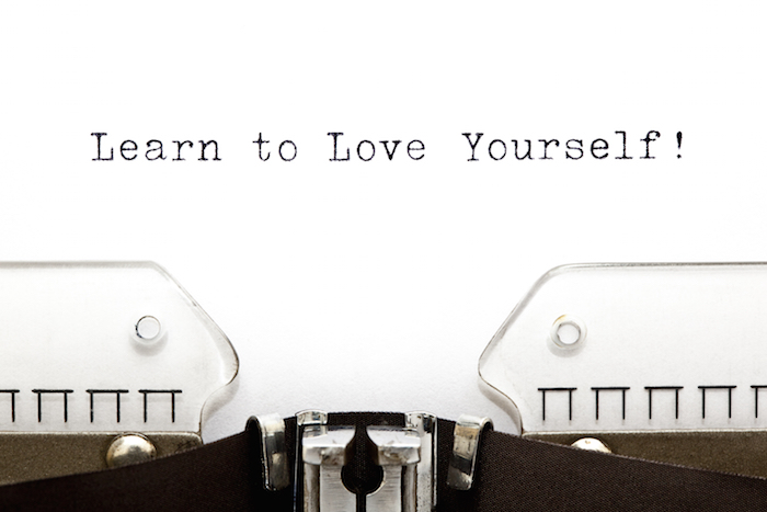 Typewriter Learn To Love Yourself